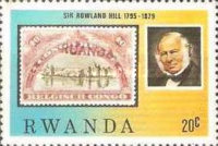 [The 100th Anniversary of the Death of Rowland Hill, 1795-1879, Typ AFQ]
