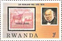 [The 100th Anniversary of the Death of Rowland Hill, 1795-1879, Typ AFT]