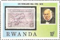 [The 100th Anniversary of the Death of Rowland Hill, 1795-1879, Typ AFU]
