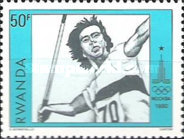 [Olympic Games - Moscow, USSR, type AHB]