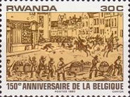[The 150th Anniversary of Belgian Independence, Typ AIF]