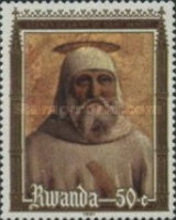 [The 1500th Anniversary of the Birth of St. Benedict of Nursia, 1477-1549, Typ AKM]