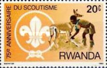 [The 75th Anniversary of Scout Movement, Typ AND]