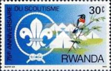 [The 75th Anniversary of Scout Movement, Typ ANE]
