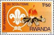 [The 75th Anniversary of Scout Movement, Typ ANF]