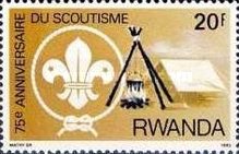 [The 75th Anniversary of Scout Movement, Typ ANI]