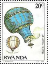 [The 200th Anniversary of Manned Flight - Balloons, Typ APM]