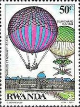 [The 200th Anniversary of Manned Flight - Balloons, Typ APP]