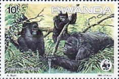 [Worldwide Nature Protection - Gorillas, Typ AQM]