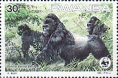 [Worldwide Nature Protection - Gorillas, Typ AQP]