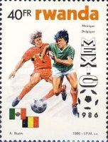 [Football World Cup - Mexico 1986, Typ ASM]