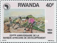 [The 25th Anniversary of African Development Bank, Typ AVV]