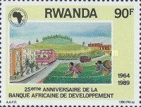 [The 25th Anniversary of African Development Bank, Typ AVW]
