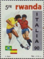 [Football World Cup - Italy, type AVZ]