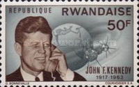 [The 2nd Anniversary of the Death of John F. Kennedy, 1917-1963, Typ BB5]