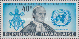 [Pope Paul's Visit to the United Nations, Typ BM]