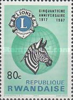 [The 50th Anniversary of Lions International, Typ DR1]