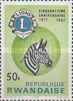 [The 50th Anniversary of Lions International, Typ DR5]