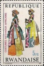 [African National Costumes, Typ IA]