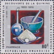 [The 150th Anniversary of Discovery of Quinine and Other Alkaloids by Pierre Joseph Pelletier and Joseph Bienaime Caventou, Typ JC]