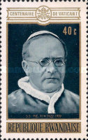 [The 100th Anniversary of the First Vatican Council, Typ KB]