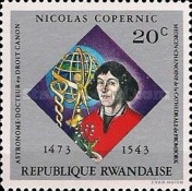 [The 500th Anniversary of the Birth of Nicolaus Copernicus, Typ QX]