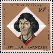 [The 500th Anniversary of the Birth of Nicolaus Copernicus, Typ RB]