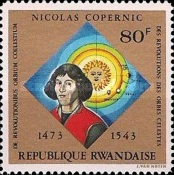 [The 500th Anniversary of the Birth of Nicolaus Copernicus, Typ RC]