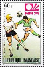 [Football World Cup - West Germany, Typ RN]