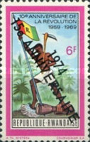 [The 15th Anniversary of Revolution - Previous Issues Overprinted