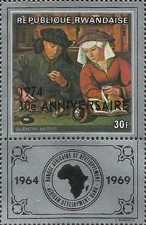 [The 10th Anniversary of African Development Bank - Previous Issues Overprinted