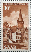 [The 400th Anniversary of the Ottweiler City, type AS]