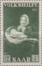 [Charity Stamps -  Paintings, type BN]