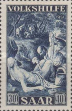 [Charity Stamps -  Paintings, type BQ]