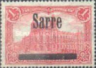 [German Empire Postage Stamp No.92 Overprinted