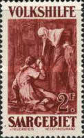 [Paintings - Charity Stamps, Typ BE1]