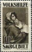 [Paintings - Charity Stamps, Typ BF]