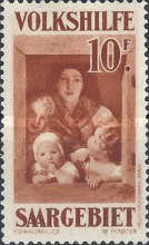 [Paintings - Charity Stamps, Typ BI]