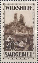 [Charity Stamps - Castles & Churches, Typ BN]