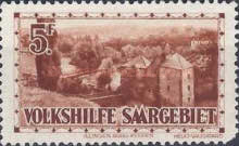 [Charity Stamps - Castles & Churches, Typ BT]