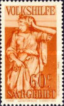 [Charity Stamps - Statues from Saarbruchen Churches, Typ BW]