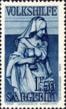 [Charity Stamps - Statues from Saarbruchen Churches, Typ BY]