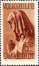[Charity Stamps - Statues from Saarbruchen Churches, Typ CB]