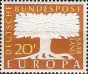 [EUROPA Stamps, Typ F]