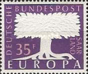 [EUROPA Stamps, Typ F1]