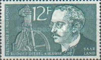 [The 100th Anniversary of the Birth of Rudolf Diesel, 1858-1913, Typ Q]