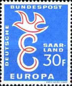 [EUROPA Stamps, Typ X1]