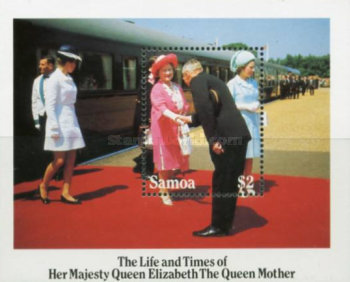 [The 85th Anniversary of the Birth of Queen Elizabeth the Queen Mother, 1900-2002, Typ ]
