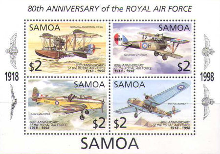 [The 80th Anniversary of the Royal Air Force - Aircrafts, Typ ]