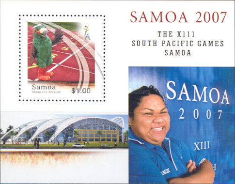 [The XIII South Pacific Games - Samoa, Typ ]